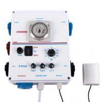 Mini-controller 2 x lamps 3 ampere Klimaatregelaar (VOI-BOX & KLIMAATREGELAAR in 1)