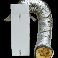 Sonoconnect- Flexibele thermisch en akoestische geisoleerde  slangen maat Ø 457 lengte 10 meter