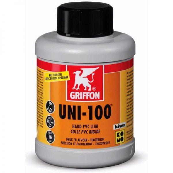 Griffon® PVC lijm UNI-100 KIWA 500 ml (0,5 liter) online bij webstunter