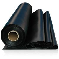 Elbe WTB 676 g/m² vijverfolie dikte 0,50 mm kleur zwart 801 (afmeting rol 30 m x 2 m) Nu verkrijgbaar bij uw vijverfoliespecialist webstunter.com