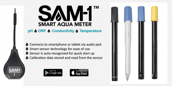 Sensoren assortiment voor SAM-1 Smart Aquameter module