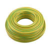 VD draad installatiedraad 2,5 mm² Geel/groen rol 100 meter