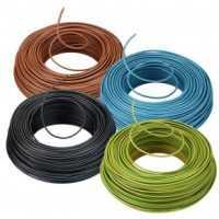 VD draad installatiedraad actiepakket (bruin, blauw, geel/groen, zwart)