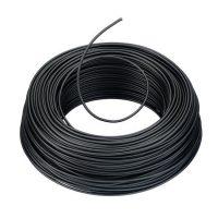 VD draad installatiedraad 1,5 mm² Zwart rol 100 meter