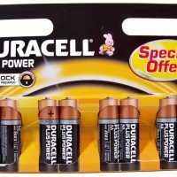 Batterij Duracell Plus Power - AA 8 Stuks